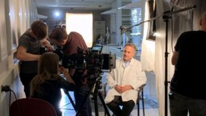 Dr. Barry O'Keefe is interviewed for the BBC documentary 'Extinction: The Facts'